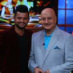 RT @toitv: The Anupam Kher Show: Suresh Raina next on the dias  @ImRaina @AnupamPkher @ColorsTV   http://t.co/ep54wIQFkp