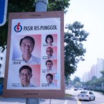 UPDATE: The destroyed @PAPSingapore posters at Sengkang East have been replaced http://t.co/NetQ3RrCut #GE2015 http://t.co/vECSFcTEER