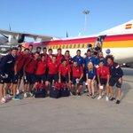 ¡¡Despegamos hacia Melilla!! Nuestro club vuelve a la Copa Del Rey dos años después. #NosVamosDeCopas #SiSePuede http://t.co/DTK6hNY88w