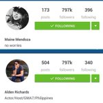 Natiempohan kanina! Hahaha same number of followers sa ig. #ALDUBJourneyToForever http://t.co/1nGNhyaEmk