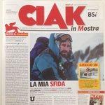 Ecco il primo numero di #CiakInMostra, il daily ufficiale di #Venezia72. E sta arrivando anche @StefanoDisegni... http://t.co/zmxtIaQHke