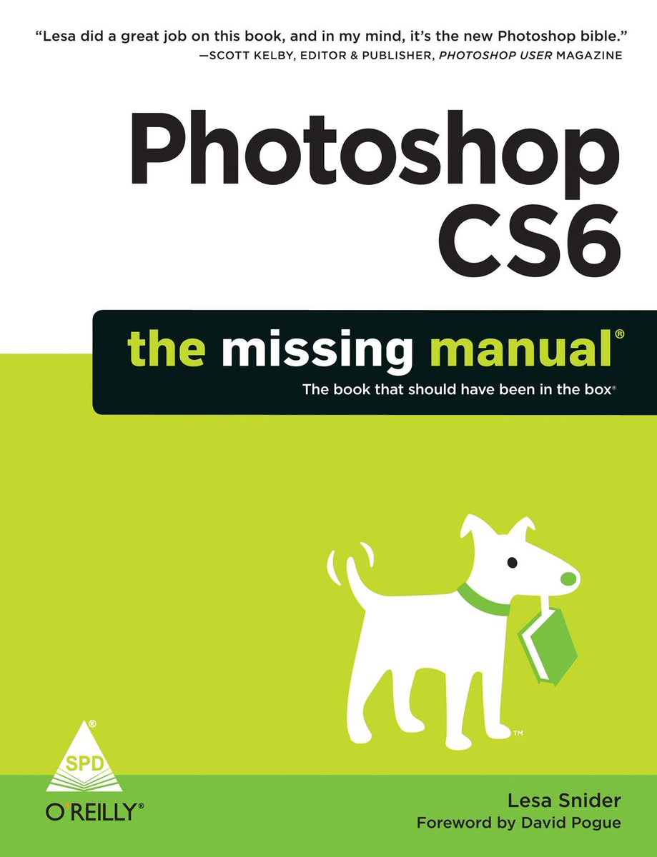 GIVEAWAY!  Retweet and follow to win Photoshop CS6: The Missing Manual! http://t.co/lFcfLA5YFX