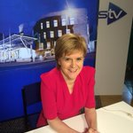 First interview from new stv studio at Holyrood http://t.co/XOc4iAKyW8