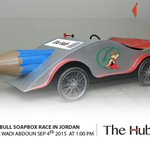 Its countdown! 2 days left for the @RedBullJo #Soapbox race #Jordan. Vote for @TheHubJo team http://t.co/pHAz9NleT6 http://t.co/GPmmGtWN4u