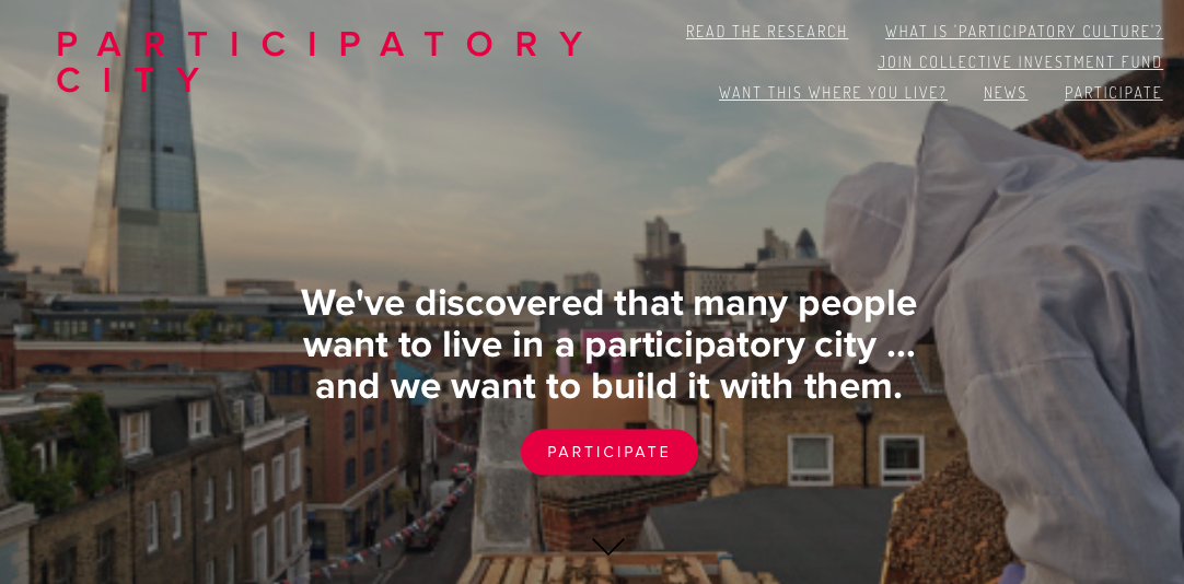 Great to have Participatory City website live! http://t.co/BXhJI83whm @ParticipatoryC http://t.co/SDCyU9KkYx