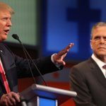 The Jeb-Trump feud gets even nastier http://t.co/e7KT7k62wN   AP photo http://t.co/XQrUVqaMAg