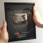 look what we got from @youtube! thank you so much to all the crafties out there for supporting us #dontcrycraft http://t.co/mTd5w29Bhe