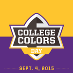 Got your purple and gold ready? Tag us in your #CollegeColors day pics Friday and we'll repost our favs! http://t.co/nB4NyUxPf5