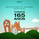 #Blumenau parabéns pelos seus 165 anos! #HalloBlumenau #Blumenau165Anos http://t.co/DVv1VNtORr