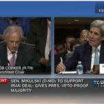 C-SPAN alert: @SenatorBarb Mikulski (D-MD) to support Iran Deal: Gives President Obama Veto-Proof Majority http://t.co/LH0HHQda2e