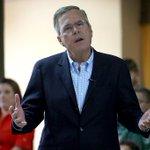 Bush's biggest rival for the nomination isn't Donald Trump. It's John Kasich and Marco Rubio. http://t.co/PecBaRyAz5 http://t.co/96rBfJCvYl
