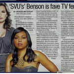 ICYMI: SVUs Olivia Benson is favorite female TV character: Poll http://t.co/vCMIodRBKW http://t.co/XkCFo4qEhe