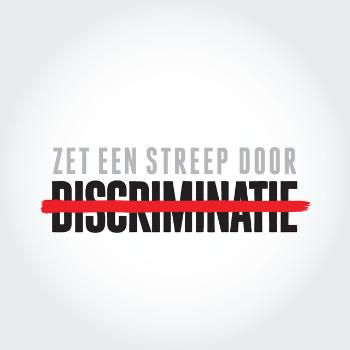 Zet een streep door discriminatie. http://t.co/MEYUGvq2WR http://t.co/fq0HpqAo3h