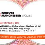 Ladies of Greater Manchester unite at the next #FMWomen 07/10 Sponsored &hosted by @KPMG http://t.co/3PvZTgERTK http://t.co/NJX4XfTlVb