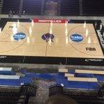 #EuroBasket2015 : un terrain de #basket importé des États-Unis pour l#Arena de #Montpellier http://t.co/OuVVbnXcLx http://t.co/iGvRMyo9uq