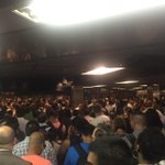 What happens when you cancel all the LIRR trains headed to Penn Station & put everyone into the subway at once? http://t.co/cQ5tScW95o