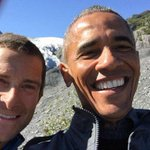 Obama and Bear Grylls take selfies in Alaskan wilderness during filming of TV show http://t.co/66LjqRAcC2 http://t.co/dl6cjS9ut2