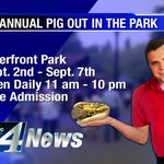 #Spokane #Foodies rejoice! Todays the holiest of days - the 36th Annual @SpokanePigOut is here! Deets on #GMNW #KXLY http://t.co/CCMog06ksX
