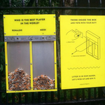 A Londres, comment inciter les fumeurs à jeter leurs mégots dans les poubelles ? En les poussant à voter avec. http://t.co/CBorYi6b2J