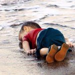 This dead Syrian boy washed up on a Turkish beach this morning. This is our reality; our failure. #refugeecrisis http://t.co/OwJbse5OJ3