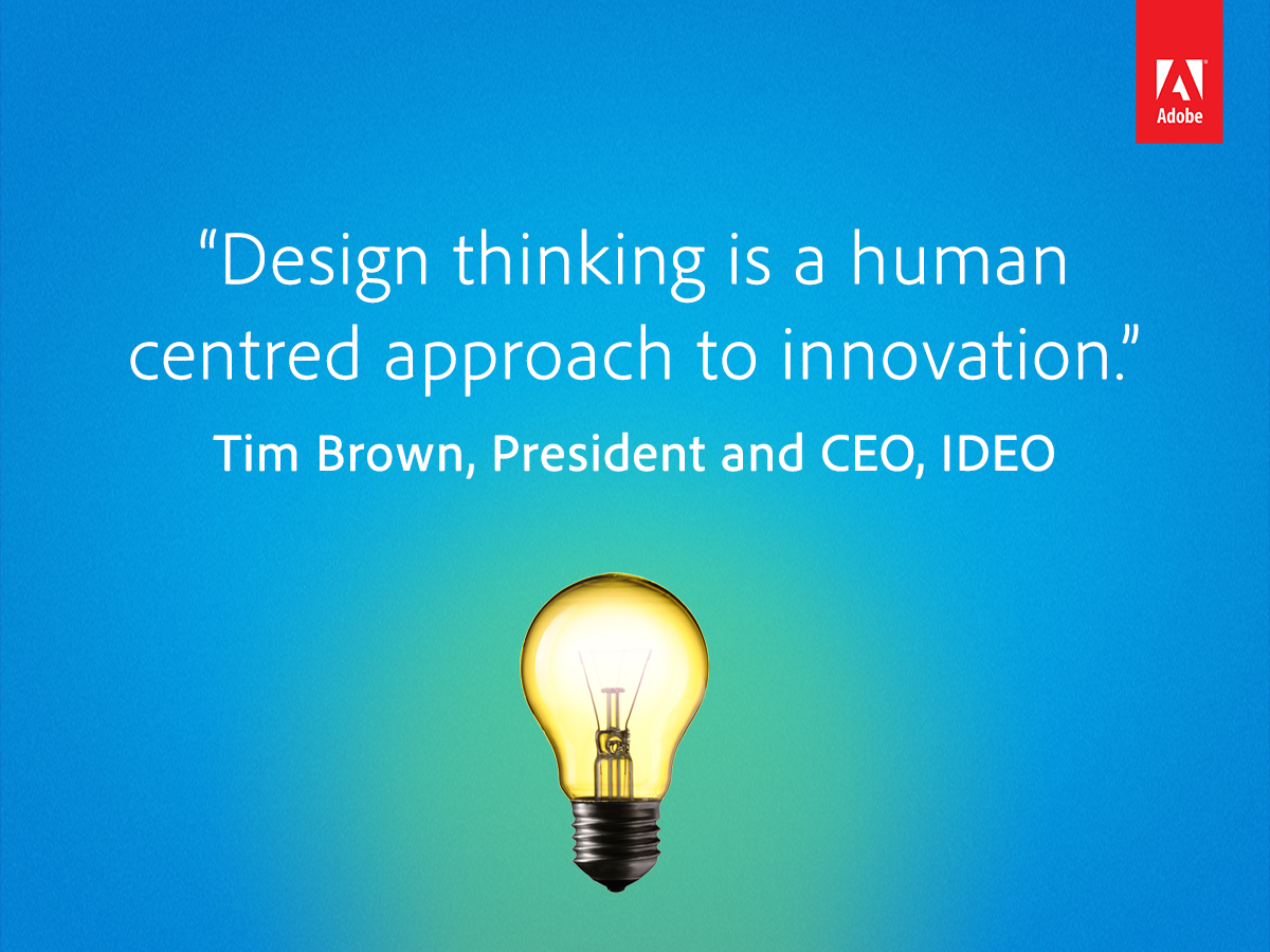 Tim Brown, CEO of @ideo tells us why design thinking matters: http://t.co/zZrSeKN6Su http://t.co/9ETfiF9X6n
