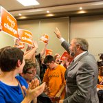 Thank you, Kamloops. With just a handful more seats we will defeat Harper and build the Canada of our dreams. —TM http://t.co/jD6epeZRsO