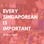 Indranee: Every Singaporean is Important! #PAP4SG #GE2015 http://t.co/YL0GDSkyUL