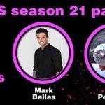Season 21 @DancingABC Pair: @alexavega and @MarkBallas. #DWTS #DancingOnGMA http://t.co/pZ8oFse1tD