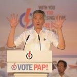 PM Lee: Were like a qilin, a mythical creature, a unicorn. Rare, like Singapore #GE2015 http://t.co/5lvDOrMkE3 http://t.co/eTyQw0T1xa