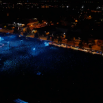 Breathtaking - tour closing show in Riga with 45k+ people from birds eye view! #PrataVetra #Latvijavar http://t.co/N9yGWIMkqk