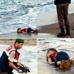 غرق هذا الطفل السوري هارباً من الموت شهادة على موت الضمير العالمي. #غرق_طفل_سوري http://t.co/wuLkLYQqPq