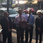 .@AndrewCohenNYC speaking about the future of #Kingsbridge http://t.co/C4axIxRi4k