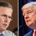 Jeb hits germophobe Trump in new personal assault: http://t.co/eWf9ye6uhB http://t.co/Le8QvLzTr9