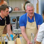 """Other Pauls baffled look when Alvin asked him if he was doing his pitta in a """"circle or a triangle"""". Classic #GBBO http://t.co/0BTmxM6SIa"""