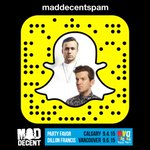 .@MDBlockParty Calgary&Vancouver this wknd! @PartyFavorMusic & @DillonFrancis takin over Snapchat! ????: MadDecentSpam http://t.co/ns9KoDVUGn