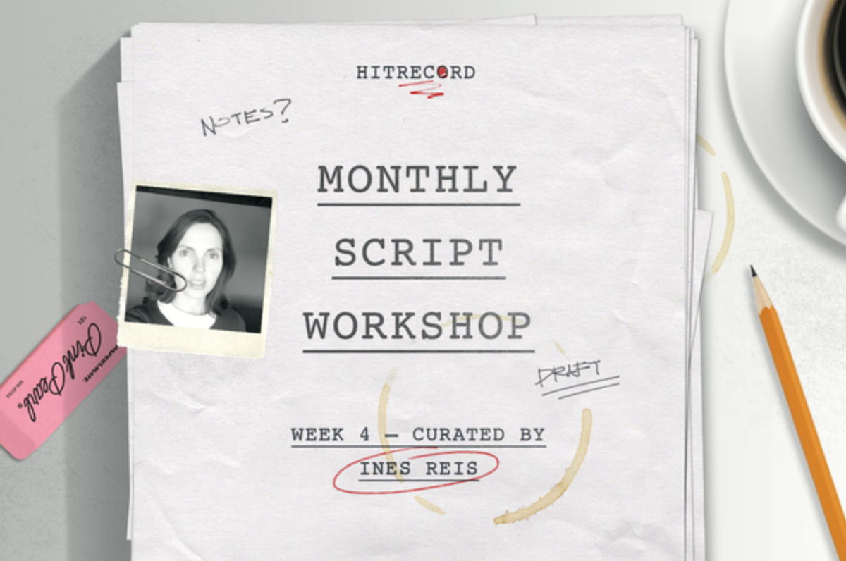 RT @hitRECord: Screenwriters -- please get your final drafts for our #MonthlyScriptWorkshop in by today! http://t.co/7cMcccd7dm http://t.co…