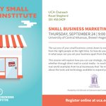 Learn best practices for marketing your small business at this Conway workshop: http://t.co/KGKwpS0fxr. http://t.co/x27gkrczie