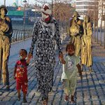 The famine statues Dublin. Similar situation just a different time. #refugeeswelcome http://t.co/eniMuFxcc9