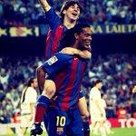 """Messi: """"Não me considero o melhor jogador da história do Barcelona porque sei que é o Ronaldinho"""" https://t.co/Bt7bsT5pX5"""