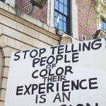 Stop telling people of color that their experience is an illusion. #FreddieGray http://t.co/sSCQdSnto3