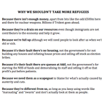 Why we shouldnt take more refugees: a handy guide. http://t.co/jF1rwaLcs4