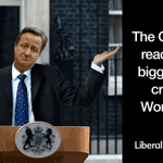 There is a humanitarian crisis on our doorstep and this is how David Cameron is dealing with it... http://t.co/bs8ew0vmS1