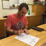 Former Cowboy Matt Pitcock signed a pro contract with FC Bern in Switzerland. Congrats and good luck. http://t.co/gkEFzsfcJF