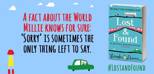Today we're sharing Millie's Wisdom from @thisisbrooked's #LostandFound - RT for a chance to win a copy! http://t.co/QmssY3O3xM