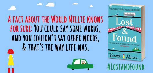 #LostandFound - Millie's Wisdom on the subject of words - RT if you'd like to win a copy. http://t.co/ua9TBEGmMF