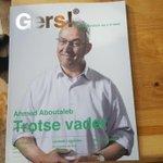 De nieuwe #Gers! is uit! Met burgemeester #Aboutaleb op de cover. Binnenkort weer overal te lezen in de stad! http://t.co/Hhoy1W8rHI