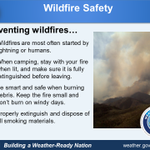 Be proactive this fall and prevent wildfires from occurring. #wildfiresafety #Sandiego #CAWX http://t.co/in35K2noWU