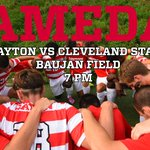 Be there at Baujan. Tonight at 7 p.m. #UDMSOC #GoFlyers http://t.co/zJSz27c6N8