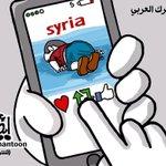 """#كاريكاتير : """" التحرك العربي.. ريتويت """" #غرق_200_مسلم_سوري_في_البحر #غرق_طفل_سوري - http://t.co/gVI4ZD0wu5"""