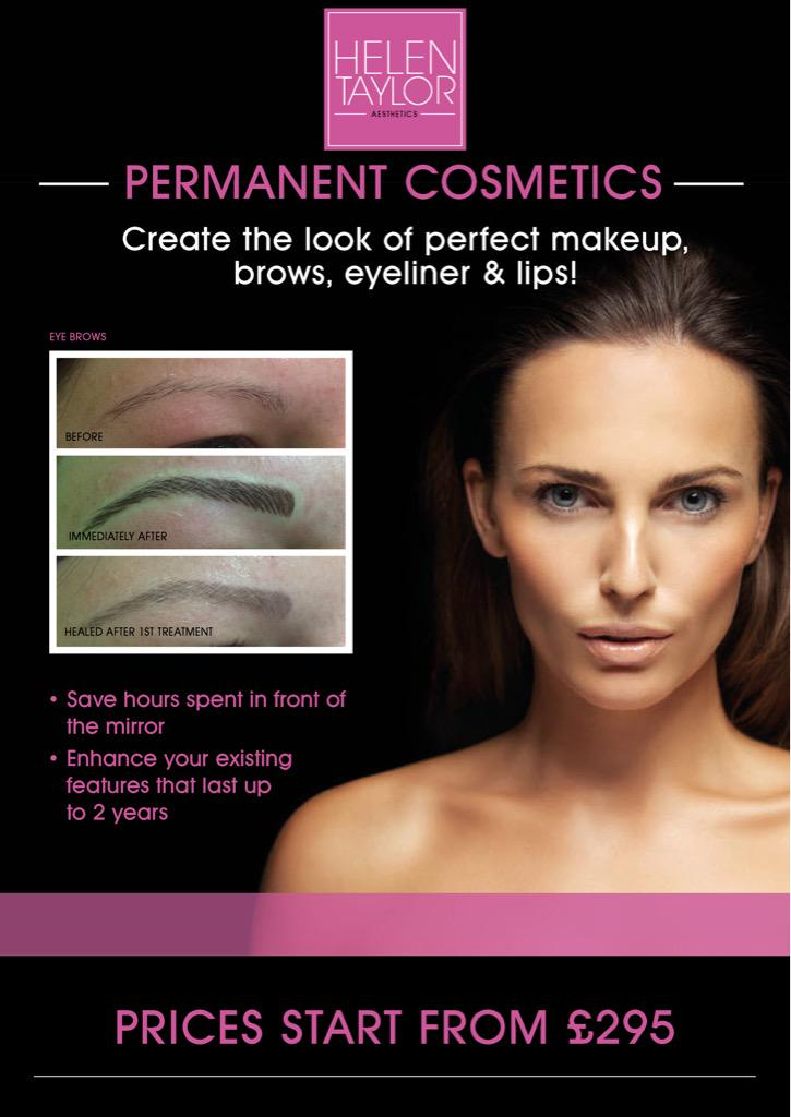 Have you thought about permanent cosmetics #midlandshour ? I'm happy to help with any questions. Helen x http://t.co/OK1TTynDLR
